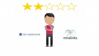 Анализ сайта GetGoodRank в Miralinks