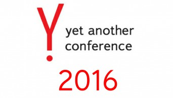 Yet Another Conference Yandex 2016