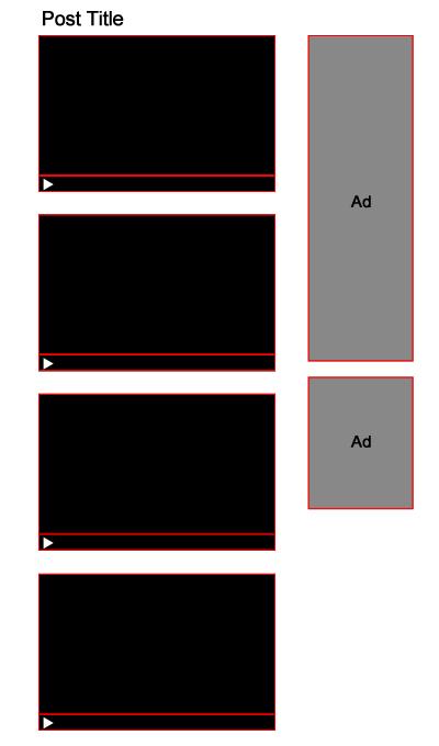 структура страницы просевшего сайта