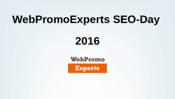 Webpromoexperts seo-day 2016