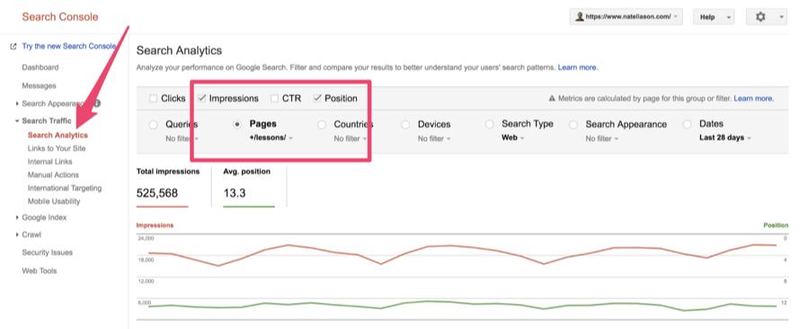 поиск страниц для оптимизации в пределах контент стратегии для увеличения трафика